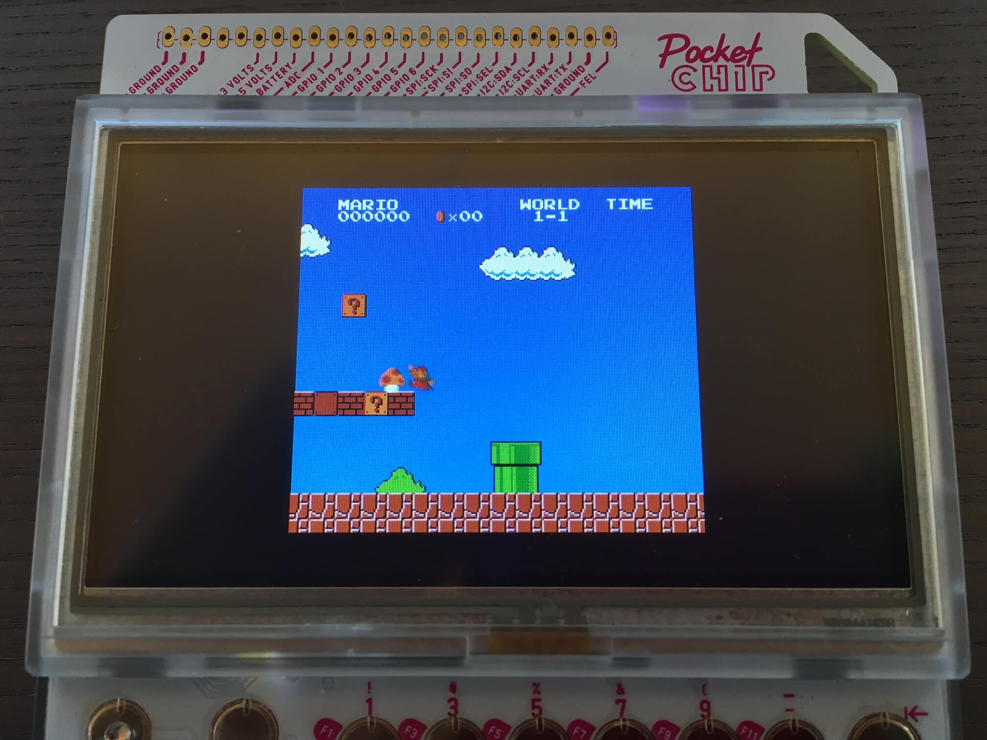 FCEUX NES Emulator running on PocketCHIP